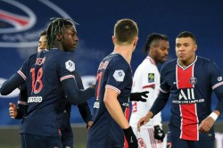 Paris Saint Germain Brest Ligue 1 Report Mauricio Pochettino First Win Moise Kean Scores Again