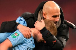 Man City Pep Guardiola Only Has Eyes For Palace Amid Liverpool V Man Utd Hype
