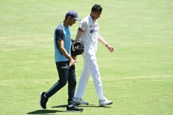 India Vs Australia 4th Test Navdeep Saini Under Medical Observation After Complaining Of Groin Pain