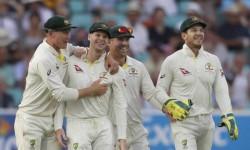 India Vs Australia Smith Wasnt Scuffing Pant Guard Mark Paine