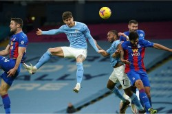 Man City 4 0 Crystal Palace John Stones Scores Twice Second Place Report
