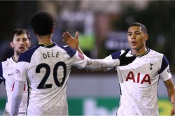 Marine Tottenham Vinicius Hat Trick And Devine Becomes Youngest Spurs Player In Fa Cup Win