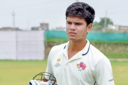 Police Shield Arjun Tendulkar Shines With Bat And Ball