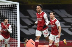 Aubameyang Hits 200th Goal In Europe S Top Five Leagues And First Premier League Hat Trick