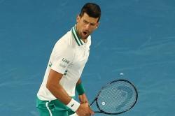 Australian Open Djokovic Brings Up 300th Slam Win Despite Injury