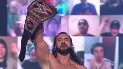 Wwe Elimination Chamber 2021 Mcintyre Comes Through Chamber Unscathed But Event Ends In Surprise