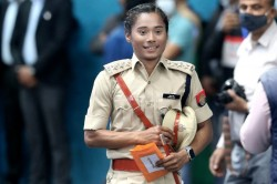 Athlete Hima Das Appointed Deputy Superintendent Of Police Of Assam