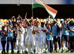 Budget 2021 Fm Nirmala Sitharaman Hails Team India S Series Win In Australia During Budget Speech