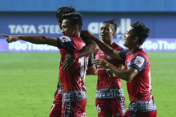Isl 2020 21 Jfc Vs Bfc Jamshedpur Hold On To Sixth Spot After Edging Bengaluru Five Goal Thriller