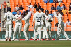 India Vs England Pink Ball Test Joe Root Hailed For Claiming Maiden Fifer Trigger Batting Collapse
