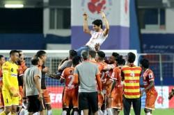 Isl 2020 21 Fcg Vs Hfc Goa Hold Hyderabad To Enter Playoffs Set New Unbeaten Record
