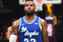 Lebron James La Lakers Nba Nuggets Oubre Warriors 76ers Embiid Trail Blazers