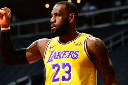 Lebron James La Lakers Hawks Rockets Nba