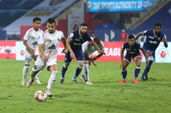 Isl 2020 21 Highlanders Leave It Late To Salvage Point Against Chennaiyin