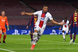 Barcelona Paris Saint Germain Mbappe Champions League