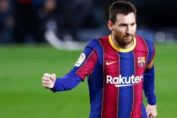 Man City Lionel Messi Barca Zabaleta Transfer News