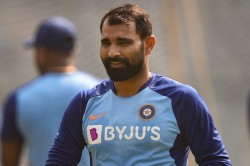 Shami Resumes Training May Be Available For 3rd Test Against England