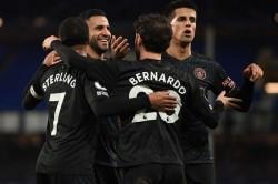 Everton 1 3 Manchester City Riyad Mahrez Stunner 10 Points Clear