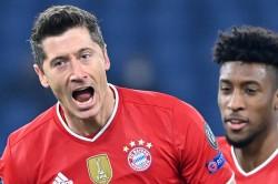 Bayern Munich Lazio Champions League Report Robert Lewandowski Sets Holders On Way To Victory
