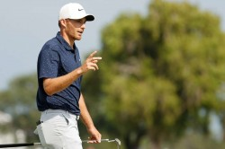 Aaron Rise Three Stroke Lead Back To Back 64s Honda Classic