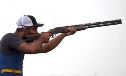 Issf World Cup 2021 Ganemat Angad Combine To Win Mixed Skeet Gold