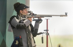 Issf World Cup 2021 India Win Silver In 50m Rifle 3 Position Womens Team Event