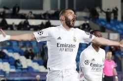 Real Madrid Atalanta Champions League Karim Benzema Sergio Ramos Seal Win