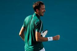 Daniil Medvedev Stefanos Tsitsipas Andrey Rublev Miami Open