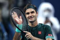 Roger Federer Beats Dan Evans Qatar Open Return