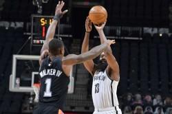 Nba Wrap Harden Hits Triple Double In Nets Overtime Win Zion Stuns Jazz