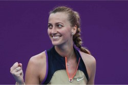 Wta Qatar Open Petra Kvitova Through Semi Finals Pegula Beats Pliskova
