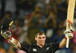 New Zealand Vs Bangladesh 2nd Odi Tom Latham Hundred Spurs Kiwis To Series Win