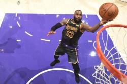 Lebron James La Lakers Nba Embiid 76ers