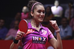 Manika Sreeja Advance Into Final Round Of Singles Qualifiers At Wtt Contender Doha