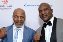 Mike Tyson Evander Holyfield Exhibition May