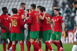 Portugal Azerbaijan World Cup 2022 Qualifying Report Cristiano Ronaldo Kept Quiet As European Champions Struggle To Victory