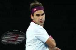 Roger Federer Atp Tour Tennis Return Doha Qatar Tennis