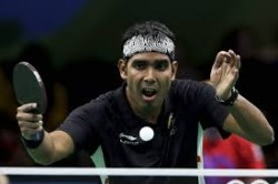Sharath Loses In Pre Quarters At Wtt Star Contender Doha