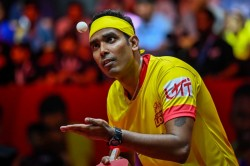Sharath Off To A Flying Start At The Wtt Contender Doha Sathiyan Bows Out