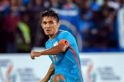 Sans Sunil Chhetri Indian Football Team To Leave For Preparatory Camp In Dubai