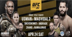 Ufc Welcomes Back Live Fans With Three Blockbuster World Championship Bouts