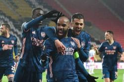 Arsenal Slavia Prague Europa League Report Gunners Ease Through To Semi Finals