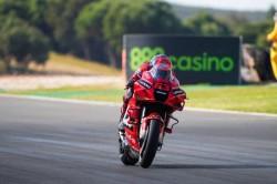 Portuguese Gp Bagnaia Makes His Mark As Marquez Proves His Speed