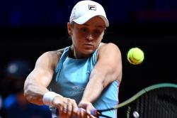Wta Tennis Barty Halep Reach Stuttgart Open Semifinals