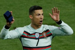 Cristiano Ronaldo Armband Fetches Over 50000 For Baby Treatment Portugal Captain Belgrade Walk Off