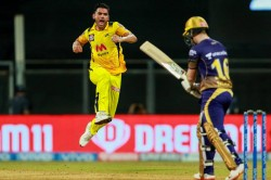 Ipl 2021 Kkr Vs Csk It Was A Good Wicket To Bowl On Deepak Chahar