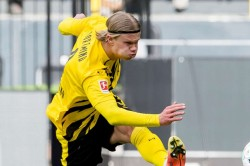 Pep Guardiola Number Nine Erling Haaland Audition Man City Borussia Dortmund