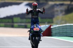 Portuguese Gp Quartararo Wins To Take Lead As Marquez Finishes Seventh In Long Awaited Return