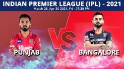 Ipl 2021 Pbks Vs Rcb Match 26 Live Updates Highlights Punjab Kings Royal Challengers Bangalore
