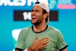 Berrettini Beats Karatsev Wins Serbia Open Title